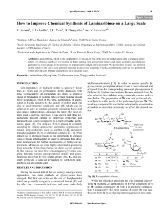 How to Improve Chemical Synthesis of - ResearchGate