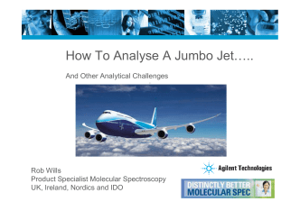 How to Analyse a Jumbo Jet