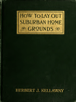 How to lay out suburban home grounds