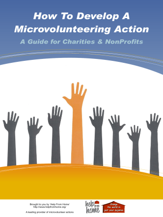 How To Set Up A Microvolunteering Project - Help From Home