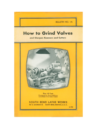 1936 - How to Grind Valves - Bu - WEWilliams