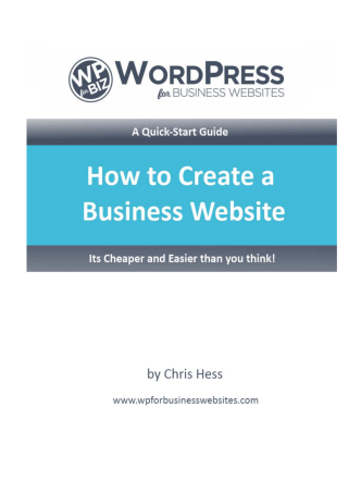 How to Create a Business Website - WordPress for Business Websites