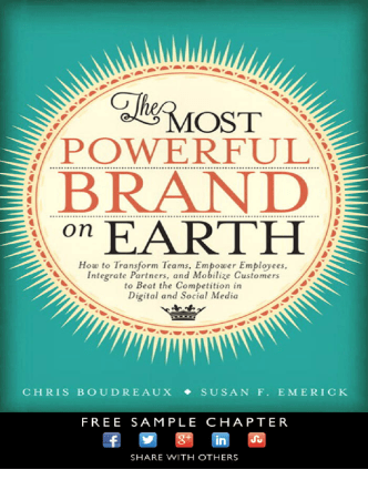 The Most Powerful Brand On Earth: How to Transform - Pearsoncmg