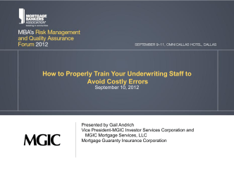 How to Properly Train Your Underwriting Staff to Avoid Costly Errors