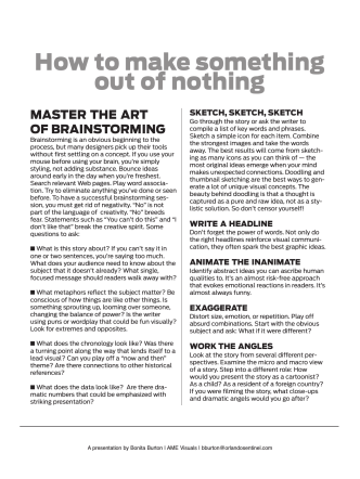 How to make something out of nothing - BonitaBurton