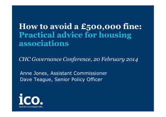 How to avoid a £500,000 fine: Practical advice for housing