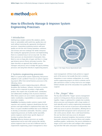 How to Effectively Manage  Improve System - Method Park