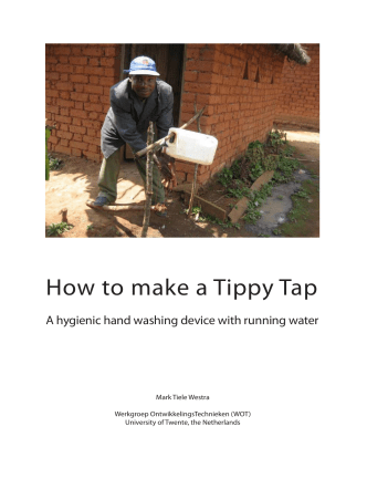 How to make a Tippy Tap