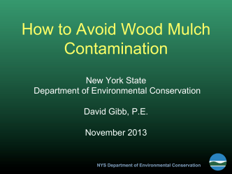 How to Avoid Wood Mulch Contamination - New York State