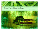 Green Iftars: A How-to Guide - Green Muslims
