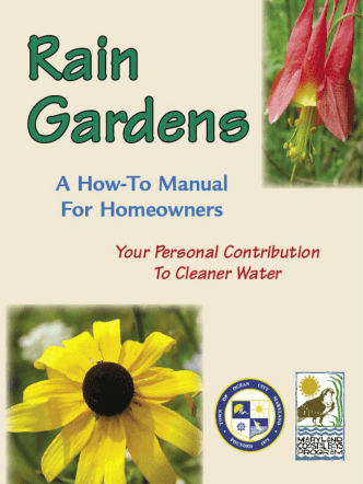 A How-To Manual - Rain Gardens for the Bays