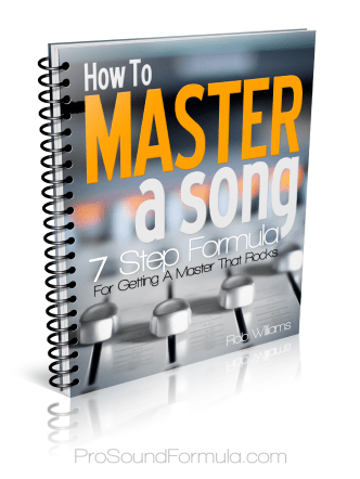 How to Master a Song eBook (Spanish) - The Ultimate Mastering