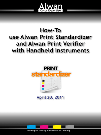 How-To use Alwan Print Standardizer and Alwan Print Verifier with