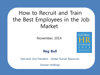 How to Recruit and Train the Best Employees in the Job Market