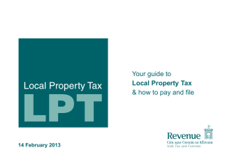 Your Guide to Local Property Tax and How to Pay and File