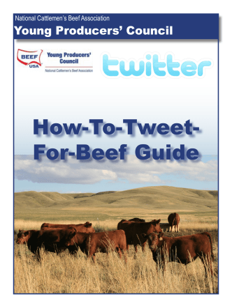 How-To-Tweet- For-Beef Guide