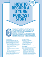 How to Record a U-turn Podcast Story - USAA.com