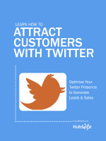 Learn How to optimize Your twitter presence to - Inbound Hub