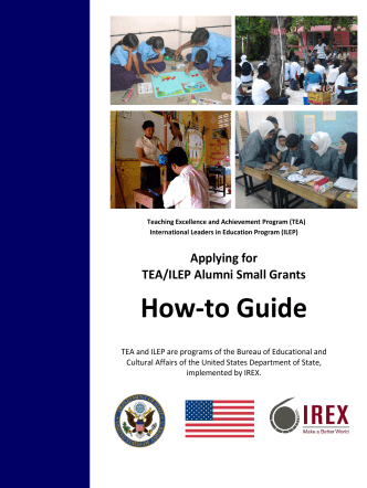 How-to Guide - IREX