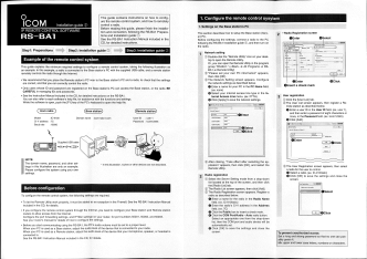 This guide contains instructions on how to config ure the remote