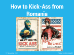 How to Kick-Ass from Romania - efikot