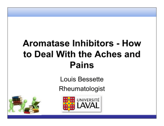 Aromatase Inhibitors - How to Deal With the Aches and to - cagpo