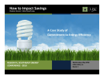 How to Impact Savings - LISC