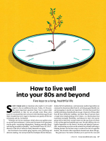 How to live well into your 80s and beyond - Consumer Health Choices
