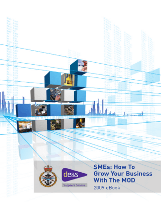 SMEs: How To Grow Your Business With The MOD - Enterprise