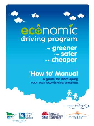 Eco Drive Program - How to manual. A guide for developing your