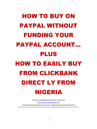 HOW TO BUY ON PAYPAL WITHOUT FUNDING YOUR PAYPAL