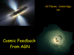 Cosmic Feedback from AGN