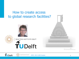 How to create access to global research facilities?