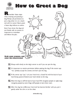 How to Greet a Dog How to Greet a Dog - Humane Society of Elkhart