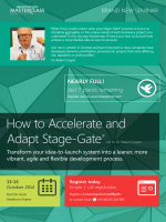 How to Accelerate and Adapt Stage-Gate® - Pure Insight