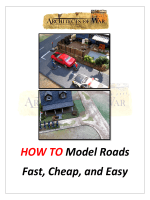 HOW TO Model Roads Fast, Cheap, and Easy - Architects of War