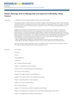 Islamic Banking. How to Manage Risk and Improve Profitability