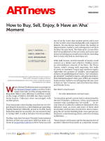 How to Buy, Sell, Enjoy,  Have an Aha Moment - prod-images