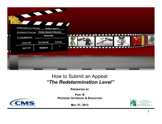 "How to Submit an Appeal: ""The Redetermination Level"" - Cahaba GBA"