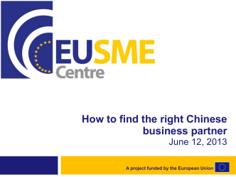 How to find the right Chinese business partner - Dansk Erhverv