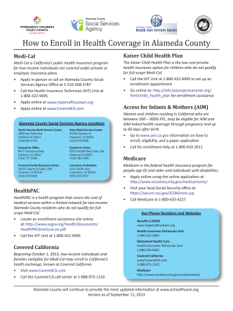 How to Enroll in Health Coverage in Alameda County.indd
