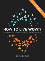 How To Live Wow in VORMGEVING v5