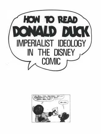 How to Read Donald Duck - fading aesthetics