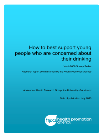 How to best support young people who are - Show details