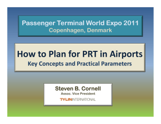 How to Plan for PRT in Airports - PRT Consulting