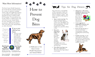 How to prevent dog bites-larger.pub - Kent County, Michigan