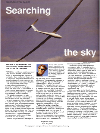 Searching the sky - the British Gliding Association