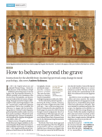How to behave beyond the grave - Andrew Robinson