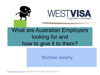 What are Australian Employers looking for and how to - westVISA