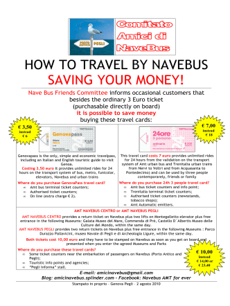 HOW TO TRAVEL BY NAVEBUS SAVING YOUR MONEY! - Yimg